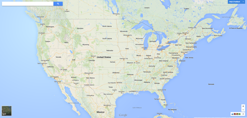 The New Google Maps The Pros Cons - Google map of the united states
