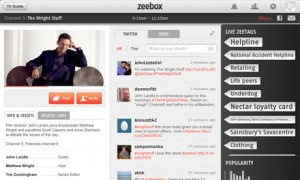 Zeebox Screenshot